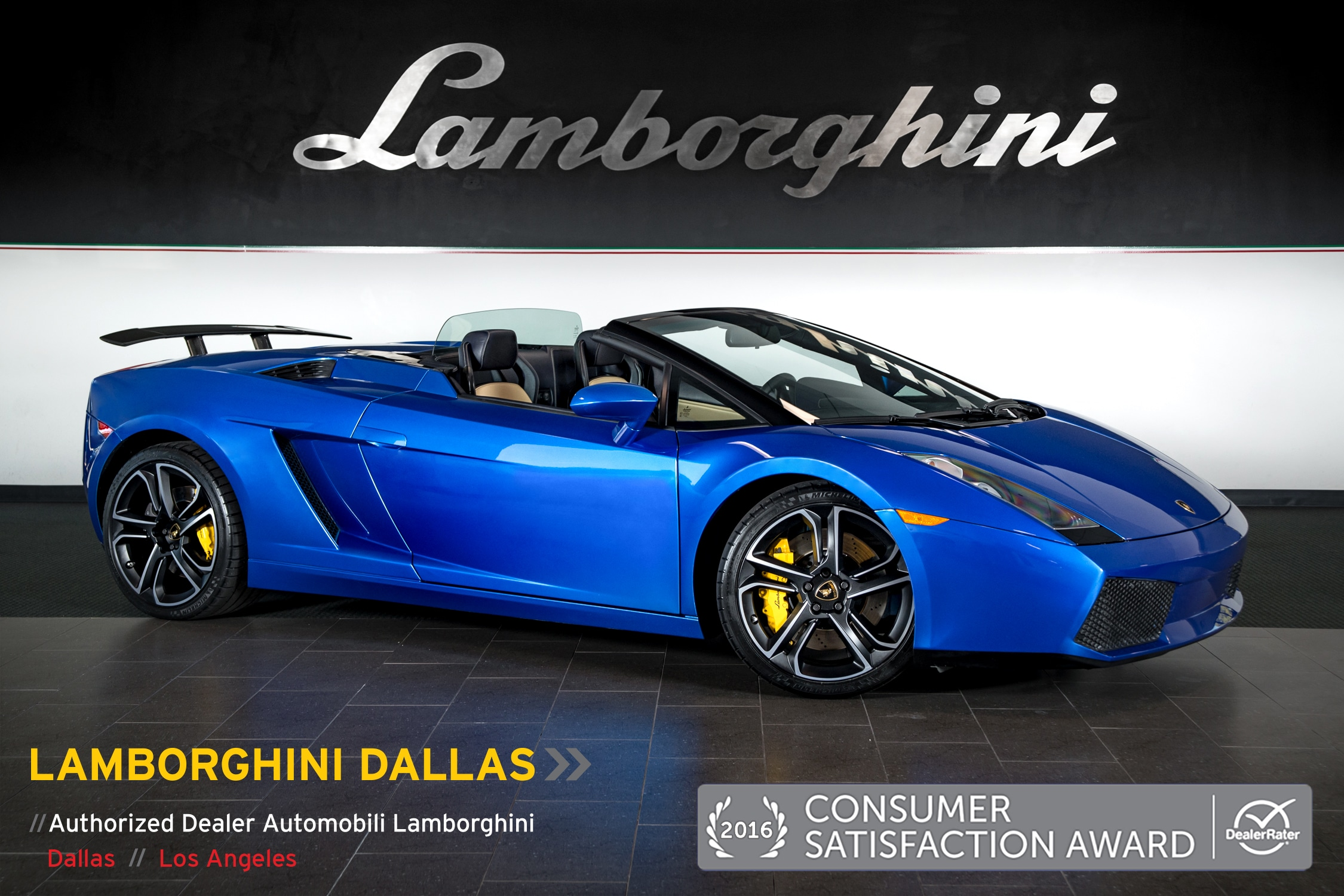 Pre-Owned 2007 Lamborghini Gallardo Spyder Dallas TX