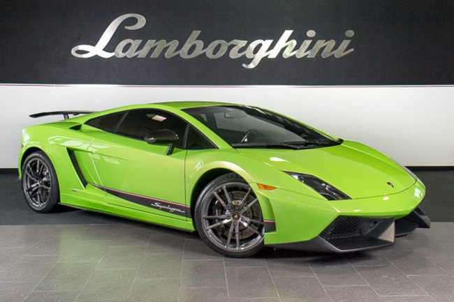 Pre-Owned 2012 Lamborghini Gallardo LP570-4 Superleggera Coupe Dallas TX