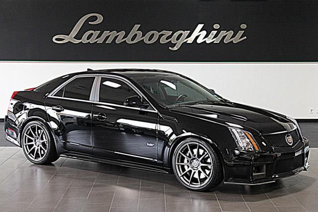 used 2009 cadillac cts v for sale richardson tx stock. Black Bedroom Furniture Sets. Home Design Ideas