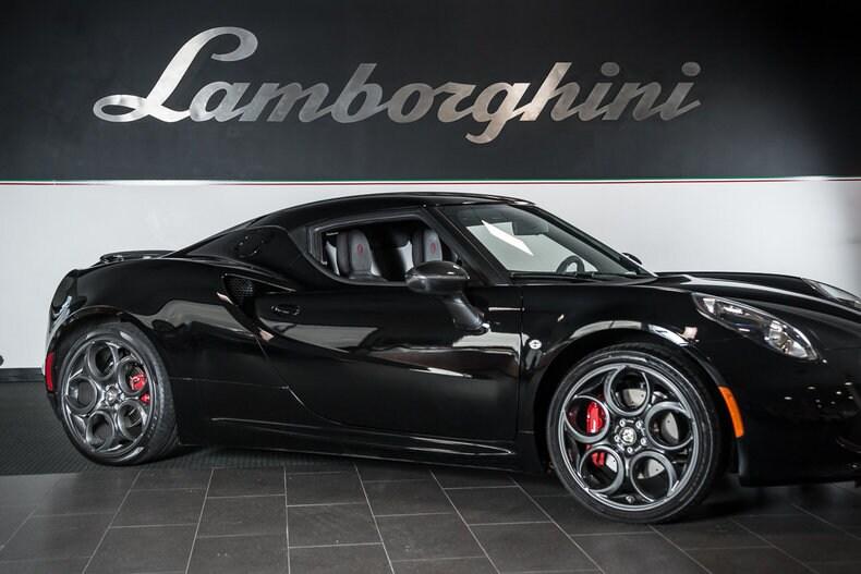 Used 2015 Alfa Romeo 4C For Sale Richardson TX
