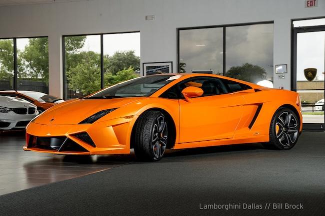 pre owned 2013 lamborghini gallardo lp560 4 coupe coupe dallas tx