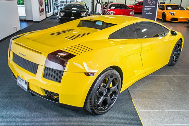 used 2004 lamborghini gallardo for sale richardson tx. Black Bedroom Furniture Sets. Home Design Ideas