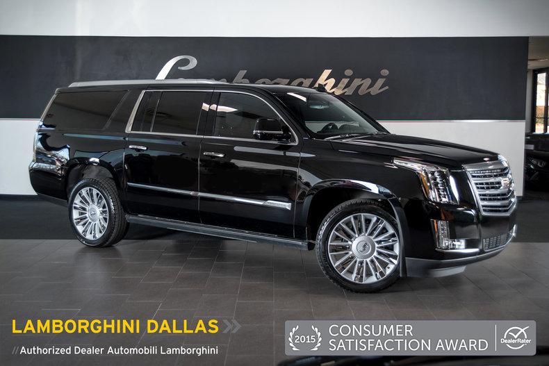 Used Cadillac Escalade Esv In Tx