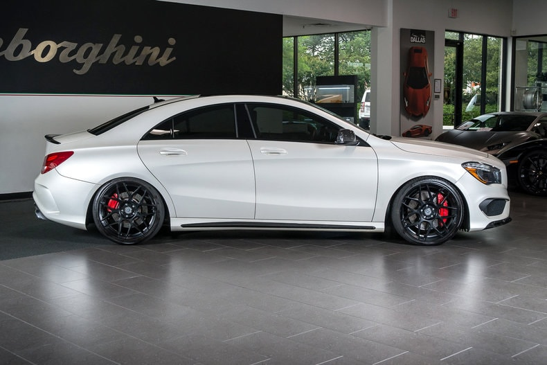 Used 2014 mercedes benz cla amg for sale richardson tx for Mercedes benz for sale in dallas tx