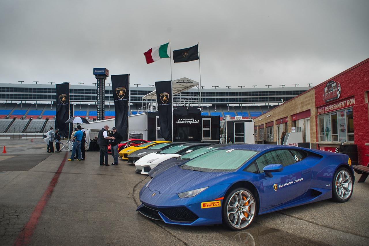 Lamborghini Esperienza 2015 Lamborghini Dallas