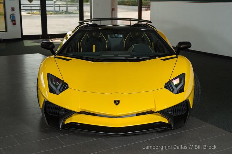Used 2016 Lamborghini Aventador Sv For Sale Richardson Tx