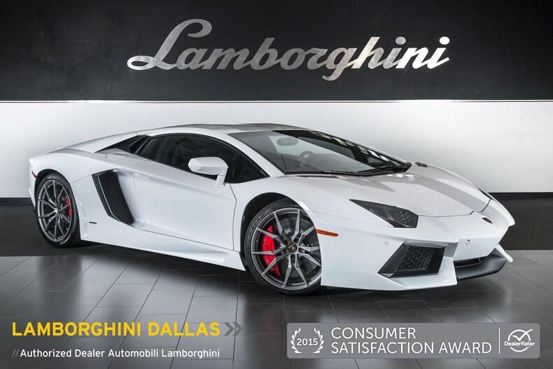 pre owned 2015 lamborghini aventador lp 700 4 coupe dallas tx
