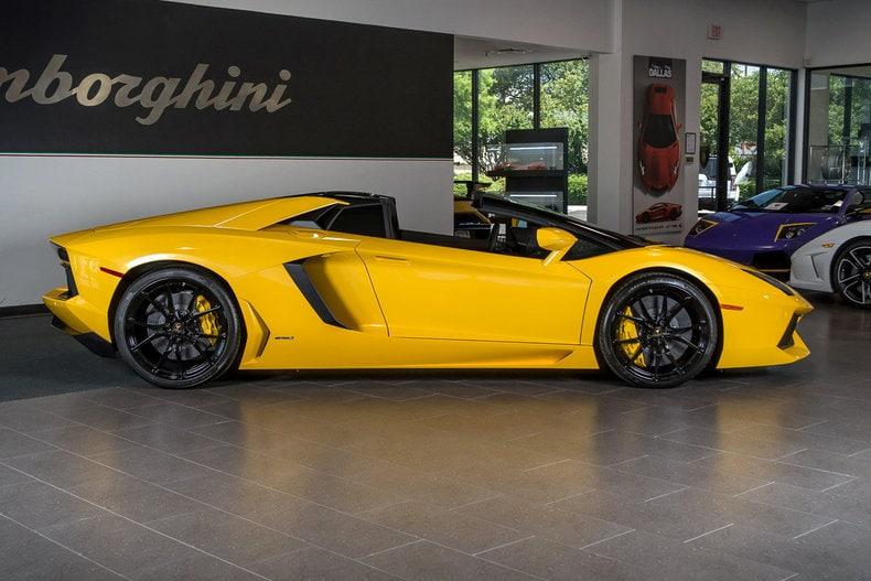 Used 2015 Lamborghini Aventador For Sale Richardson Tx
