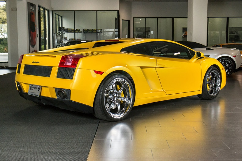 used 2005 lamborghini gallardo for sale richardson tx. Black Bedroom Furniture Sets. Home Design Ideas
