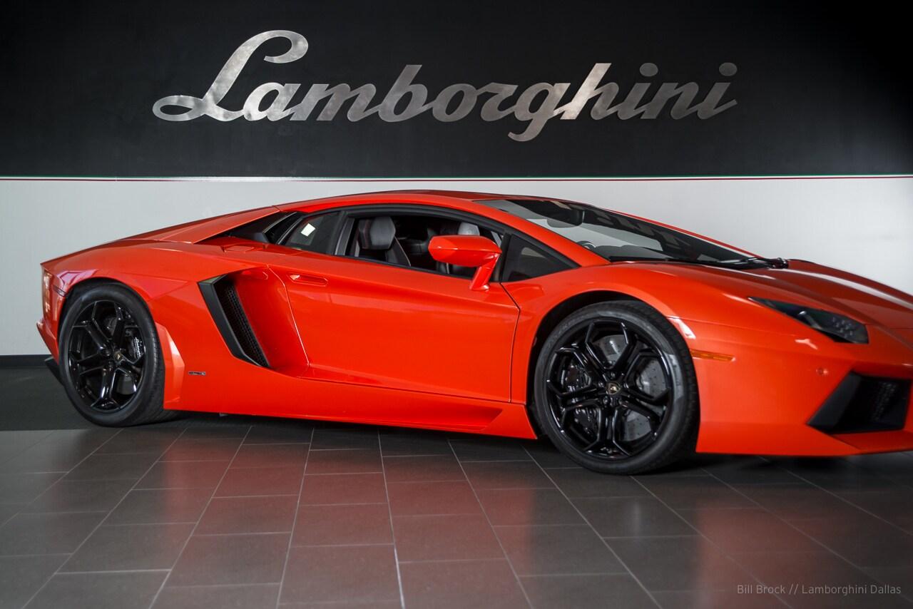 Used 2012 Lamborghini Aventador For Sale Richardson Tx
