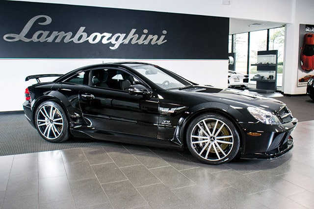 Used 2009 mercedes benz sl65 for sale richardson tx for Mercedes benz for sale in dallas tx