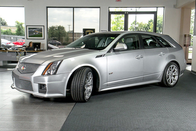 Used 2011 Cadillac Cts V Sport Wagon For Sale Richardson