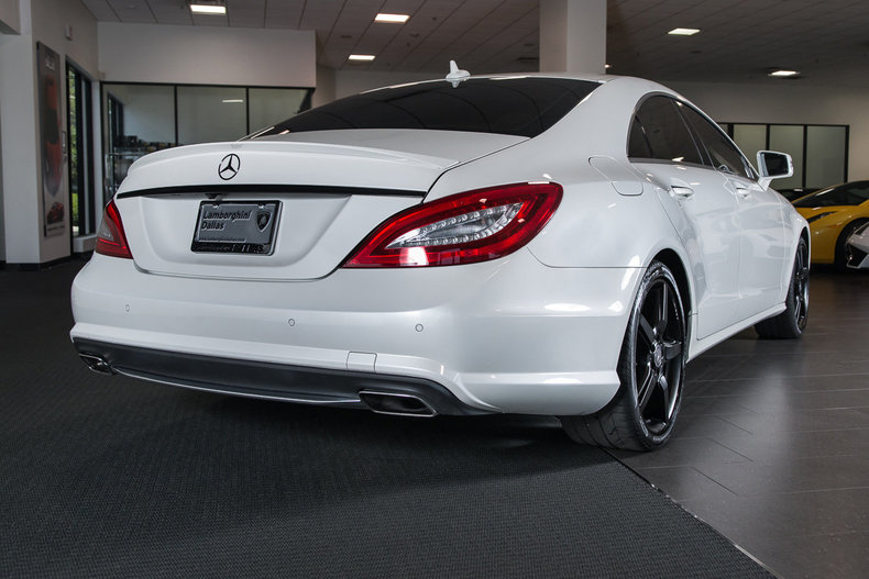 Used 2013 mercedes benz cls550 for sale richardson tx for Mercedes benz for sale in dallas