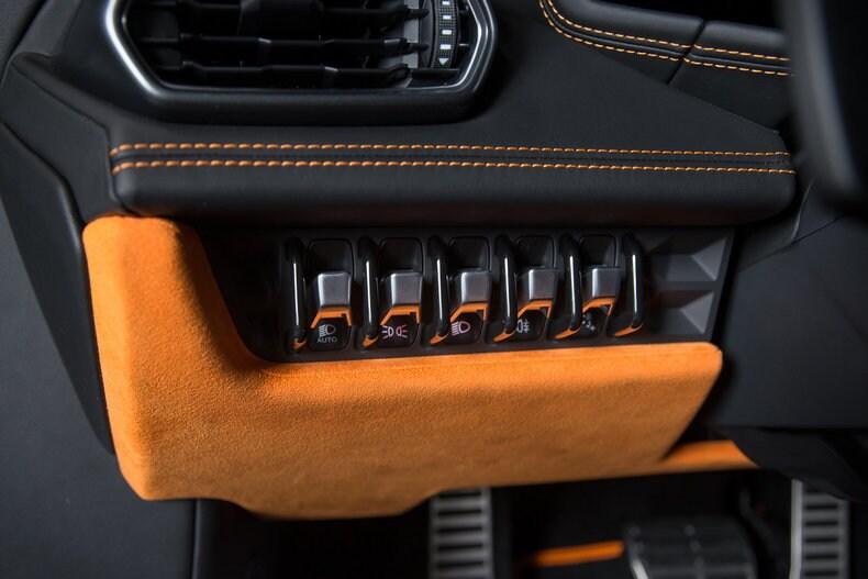 pre owned 2015 lamborghini huracan lp610 4 coupe dallas tx - Lamborghini Huracan Orange Interior