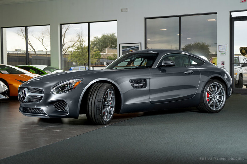 Used 2016 mercedes benz gt s for sale richardson tx for Mercedes benz dealers dallas