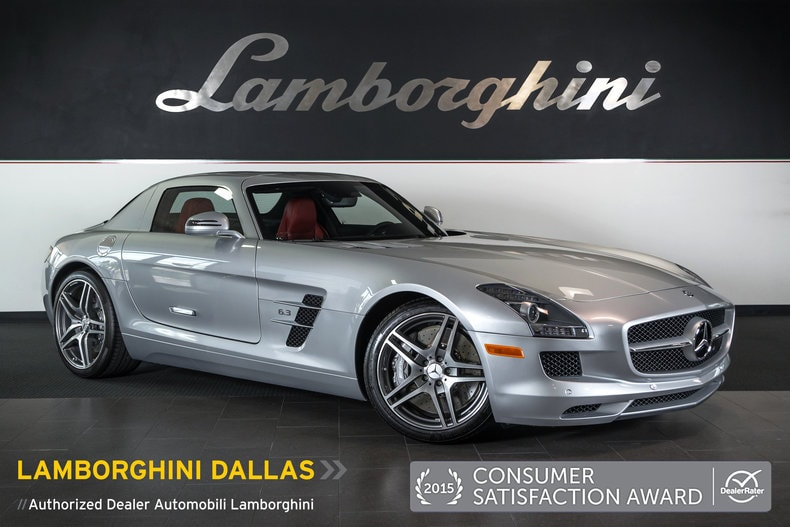 Used 2011 mercedes benz sls amg for sale richardson tx for Mercedes benz dallas for sale