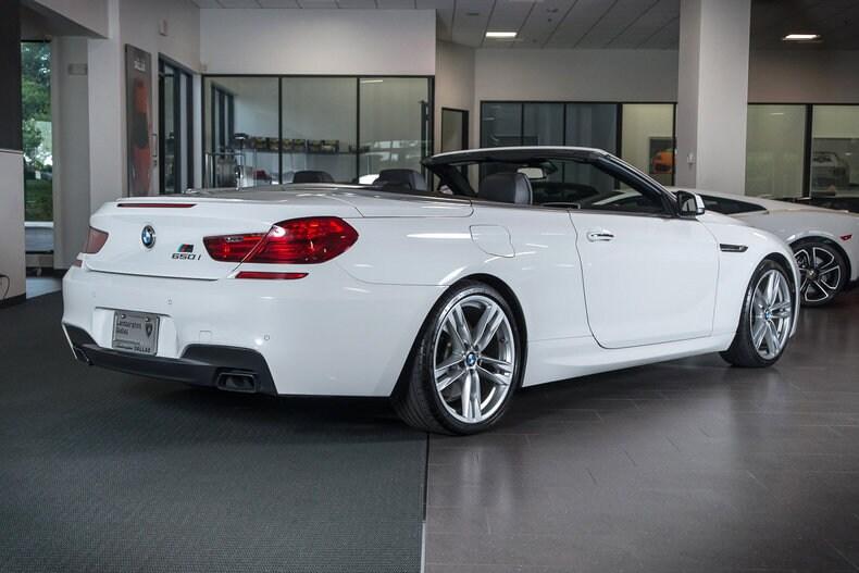 2012 BMW 650i Convertible in Dallas