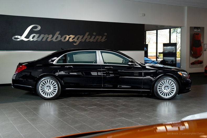Used 2016 mercedes benz maybach s 600 for sale richardson for Mercedes benz dealership dallas texas