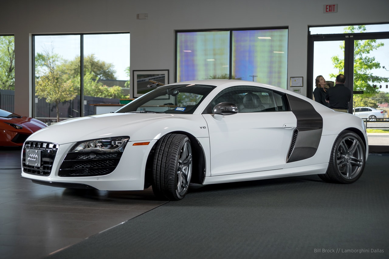 used 2012 audi r8 for sale richardson tx stock lc408. Black Bedroom Furniture Sets. Home Design Ideas