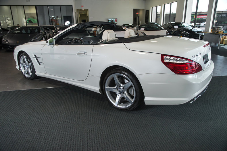 Used 2013 mercedes benz sl550 for sale richardson tx for Mercedes benz service dallas tx