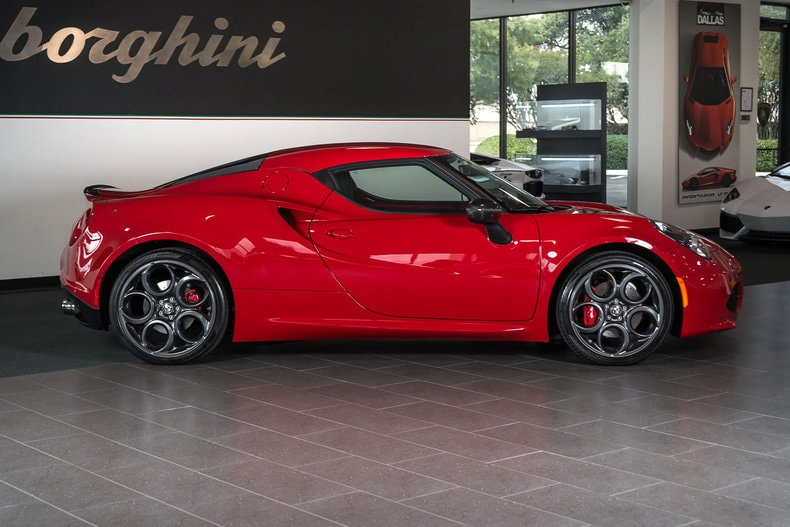 used 2015 alfa romeo 4c launch edition for sale richardson. Black Bedroom Furniture Sets. Home Design Ideas