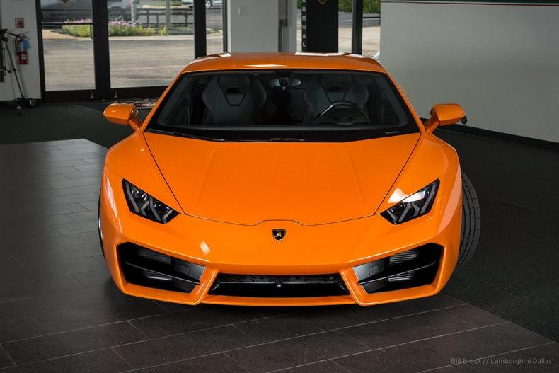 pre owned 2017 lamborghini huracan lp580 2 coupe dallas tx - Lamborghini Huracan Orange Interior