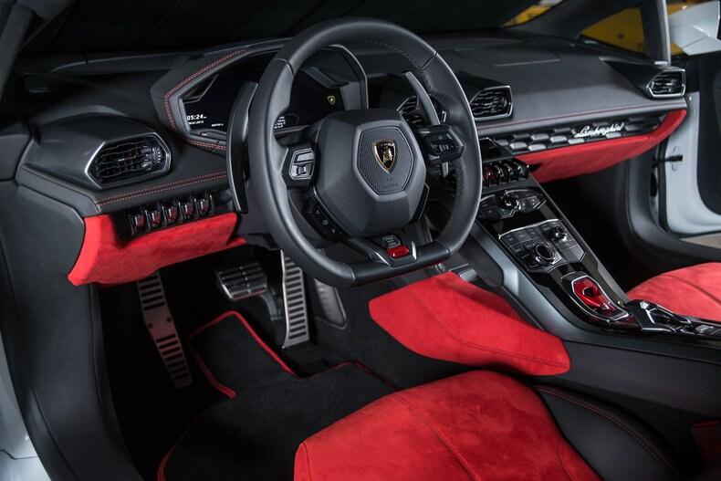 2015 Lamborghini Huracan Interior Center Stack Dream Cars More