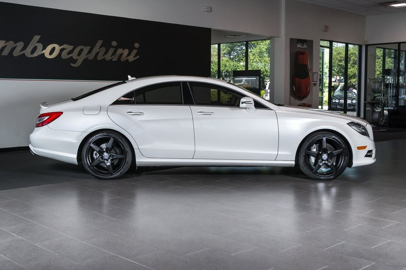 Used 2013 mercedes benz cls550 for sale richardson tx for Mercedes benz dealership dallas texas