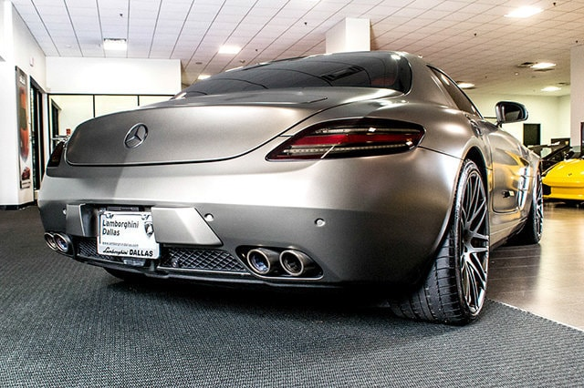 Used 2011 mercedes benz sls for sale richardson tx stock for Mercedes benz used dallas