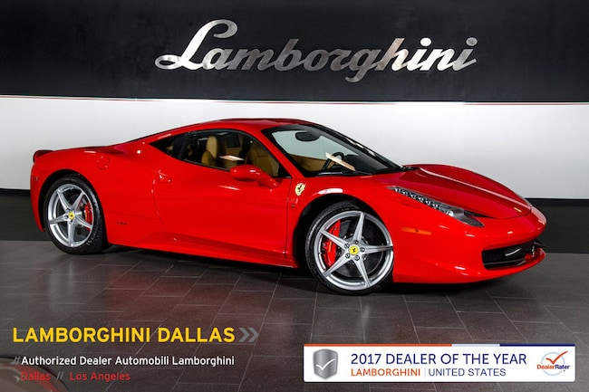 Pre-Owned 2015 Ferrari 458 Italia Coupe Dallas TX