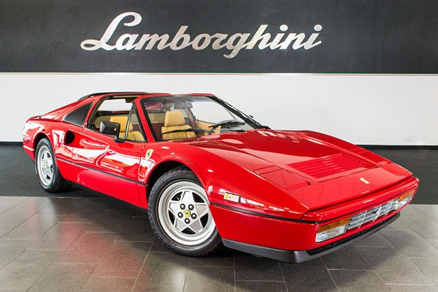 Used 1989 Ferrari 328 For Sale Richardson Tx Stock Lc254 Vin Zffxa20a8k0081186