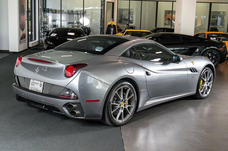 Used 2010 Ferrari California For Sale Richardson Tx