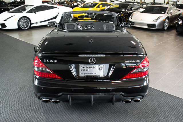 Used 2009 mercedes benz sl63 amg for sale richardson tx for Mercedes benz dallas for sale