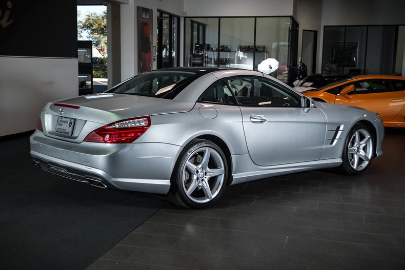 Used 2013 mercedes benz sl 550 for sale richardson tx for Used mercedes benz dallas