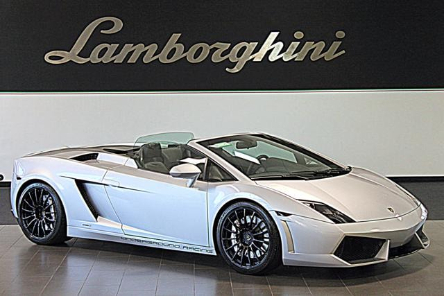 Pre-Owned 2010 Lamborghini Gallardo Underground Racing LP1200-4 Spyder Dallas TX