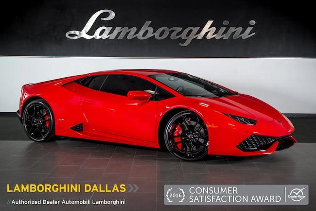pre owned 2015 lamborghini huracan lp610 4 coupe dallas tx