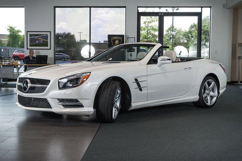 Used 2013 mercedes benz sl550 for sale richardson tx for Mercedes benz dallas for sale