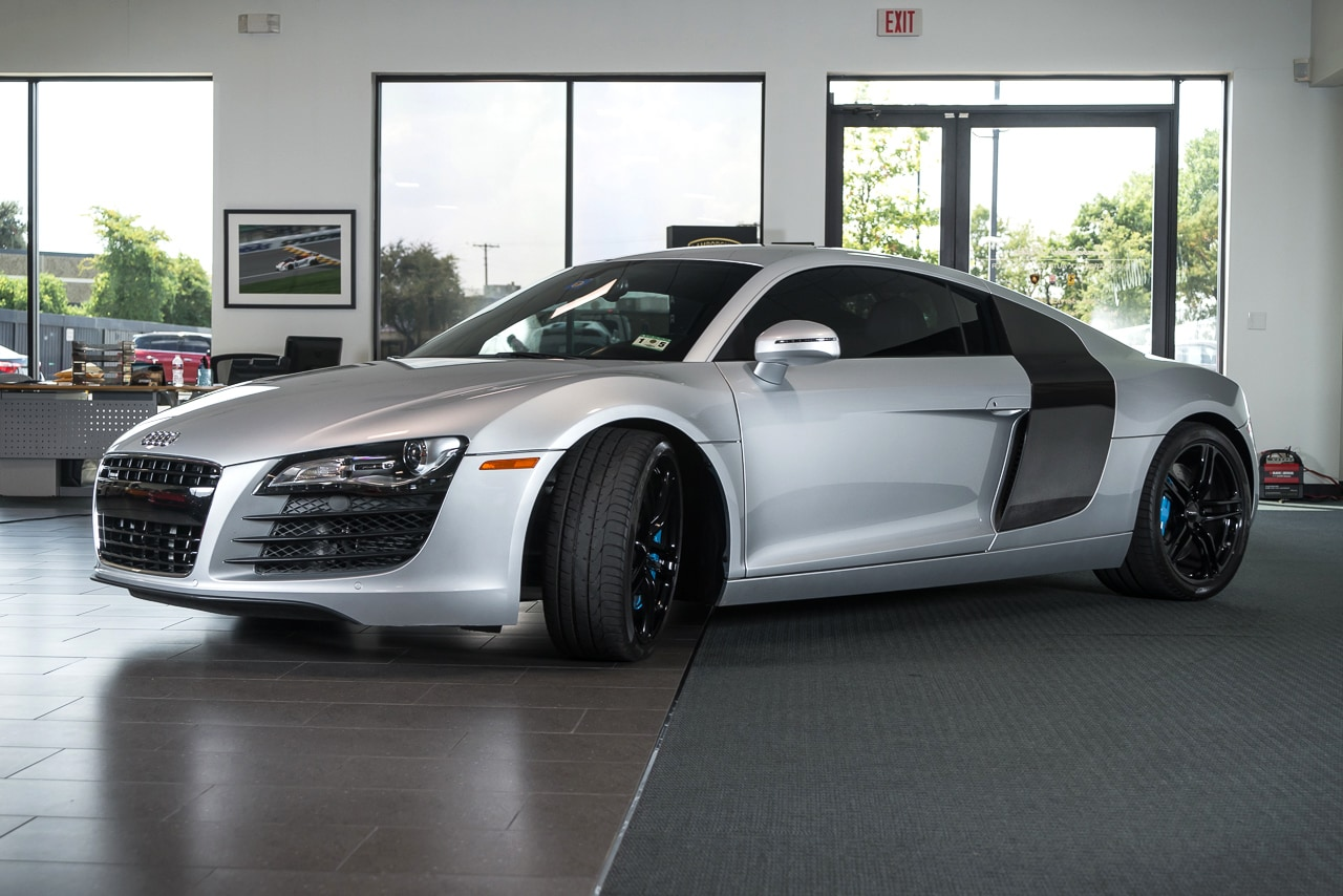 used 2009 audi r8 for sale richardson tx stock lt0817. Black Bedroom Furniture Sets. Home Design Ideas