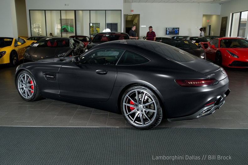 Used 2016 mercedes benz amg gts for sale richardson tx for Mercedes benz dallas for sale
