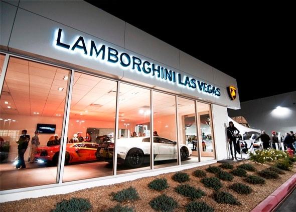 Lamborghini Las Vegas New Lamborghini Dealership In