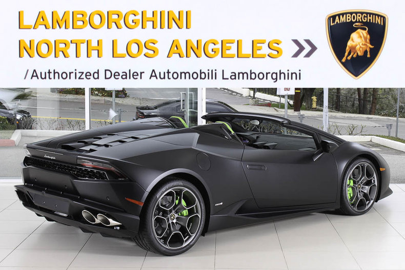 new 2017 lamborghini huracan lp610 4 spyder for sale calabasas ca vin zhwur1zfxhla05909. Black Bedroom Furniture Sets. Home Design Ideas