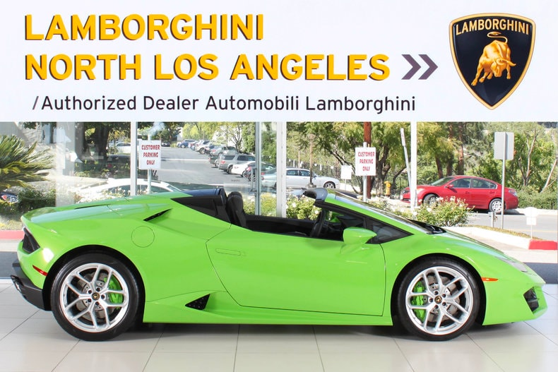 new 2017 lamborghini huracan lp580 2 spyder for sale. Black Bedroom Furniture Sets. Home Design Ideas