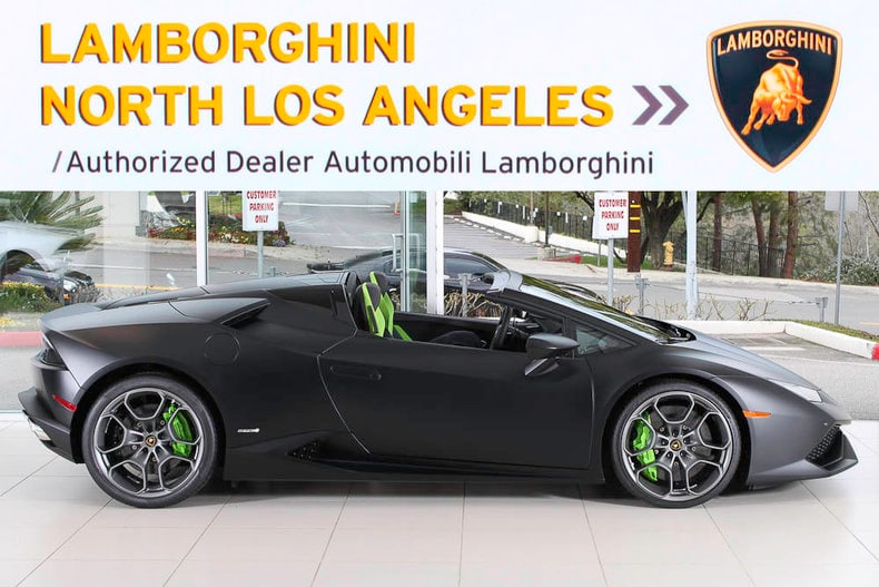new 2017 lamborghini huracan lp610 4 spyder for sale plano tx. Black Bedroom Furniture Sets. Home Design Ideas