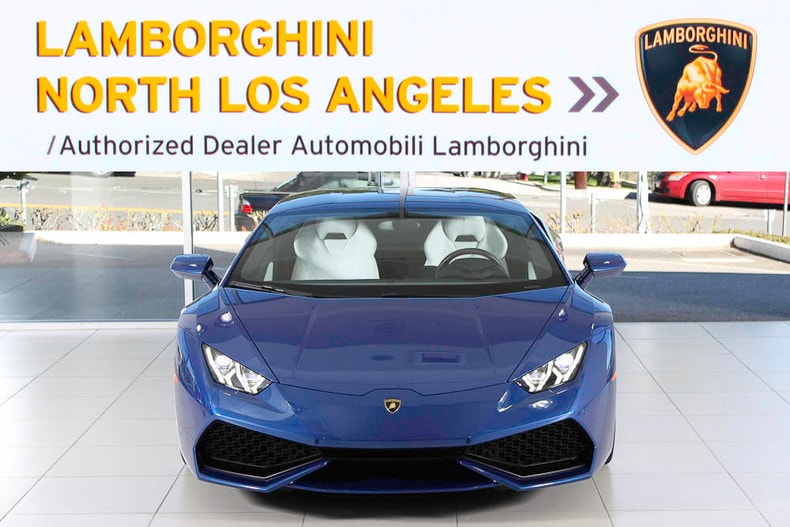 used 2015 lamborghini huracan lp610 4 for sale calabasas ca. Black Bedroom Furniture Sets. Home Design Ideas