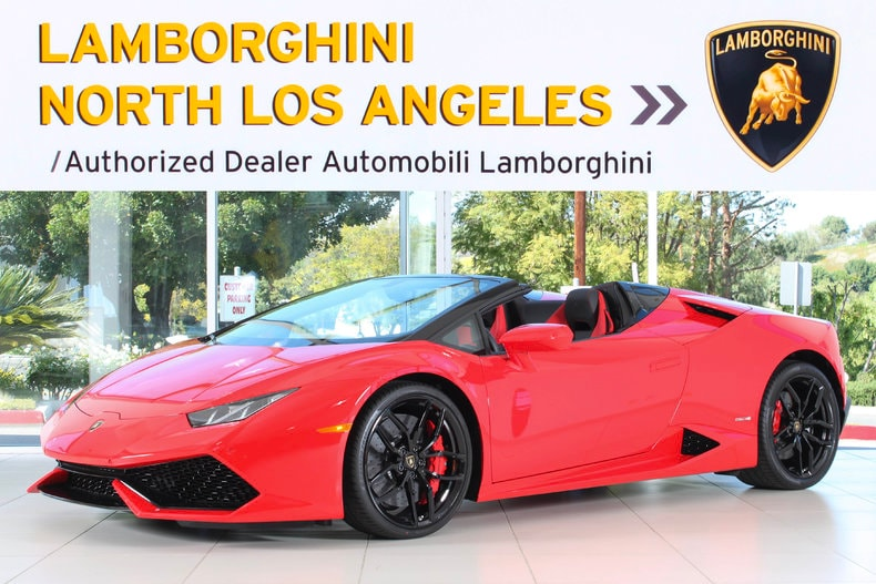 new 2017 lamborghini huracan spyder for sale calabasas ca vin zhwur1zf0hla06597. Black Bedroom Furniture Sets. Home Design Ideas