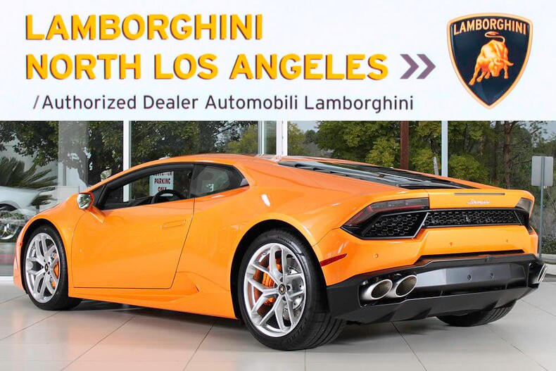 new 2017 lamborghini huracan 580 2 for sale calabasas ca. Black Bedroom Furniture Sets. Home Design Ideas