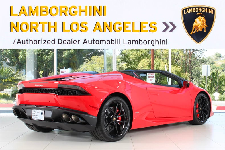 new 2017 lamborghini huracan spyder for sale calabasas. Black Bedroom Furniture Sets. Home Design Ideas
