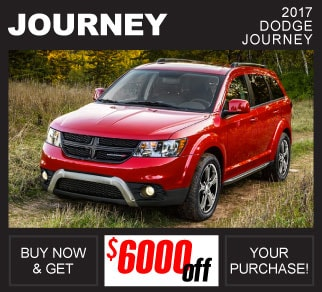 Shop New 2017 Dodge Journey Inventory Huntsville AL