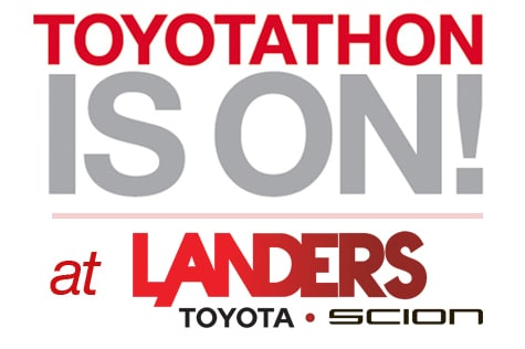 Toyotathon is on at Steve Landers Toyota in Little Rock
