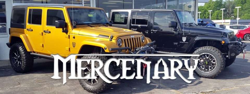 Jeep Mercenary - Custom Jeeps at Landmark
